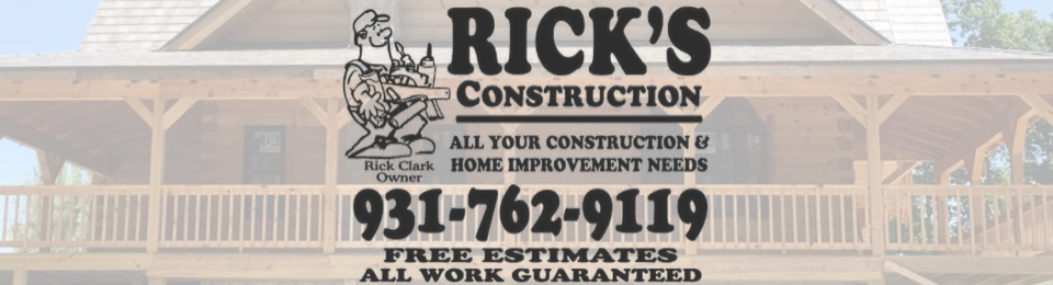 Rick's Construction and Roofing Company